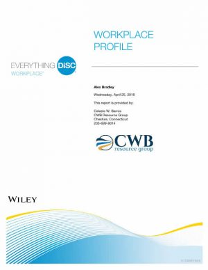 CWB Resource Group - Everything DiSC Sample Workplace Profile