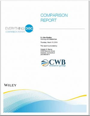CWB Resource Group Everything DiSC Comparison Report