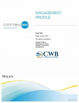 CWB Resource Group: Everything DiSC Management Profile