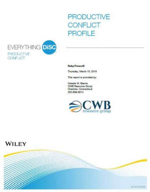 Everything DiSC® Productive Conflict CWB Resource Group
